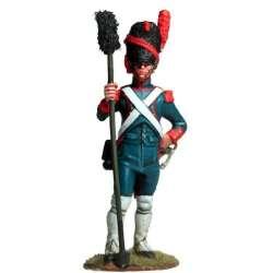 Artillería a pie de la guardia imperial francesa baqueta
