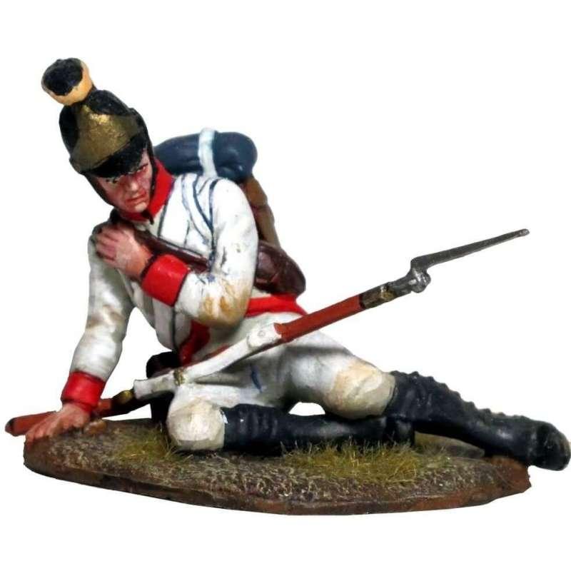 Soldado regimiento nº 23 Sulzburg infantería austriaca herido