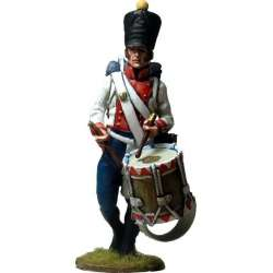 NP 595 toy soldier di napoli infantry regiment drummer