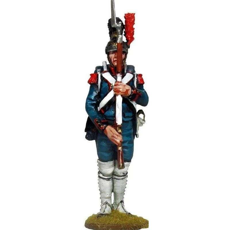 Ingeniero de la guardia imperial firmes