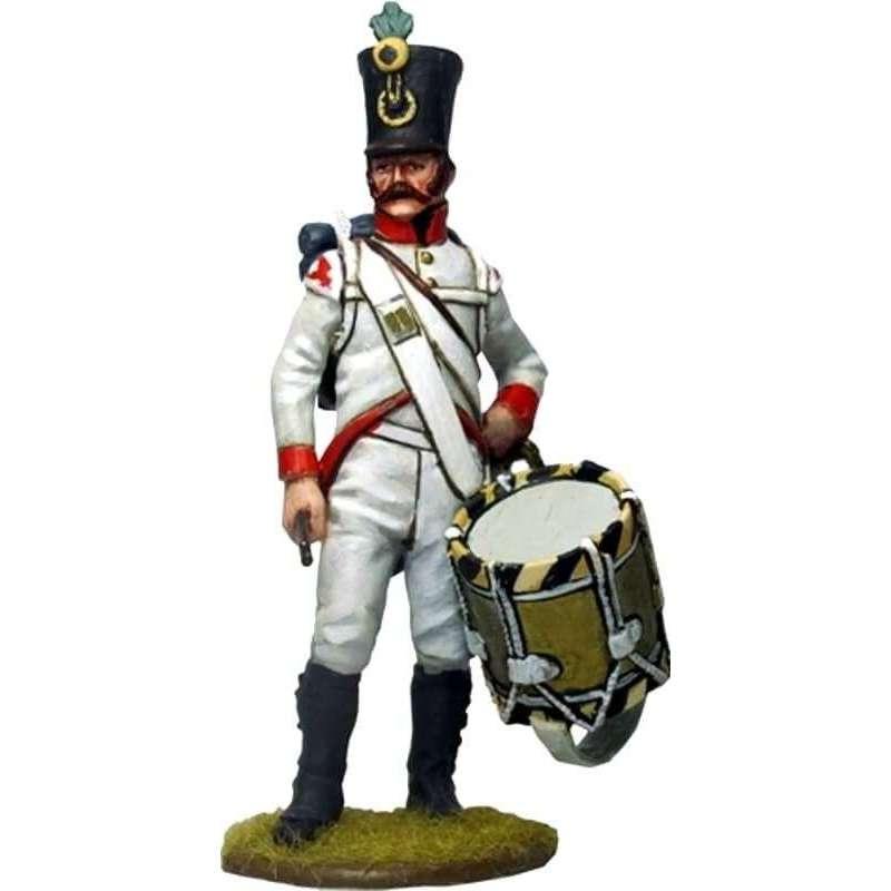 austrian infantry regiment Wurzburg 1808 drummer
