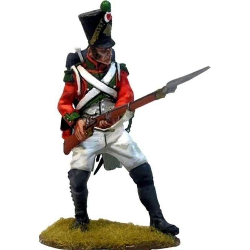 Segundo regimiento de la guardia de París 1