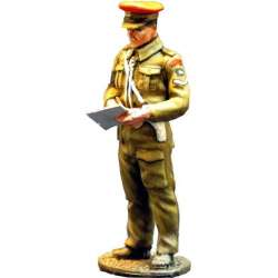 WW 071 toy soldier british red cap provost