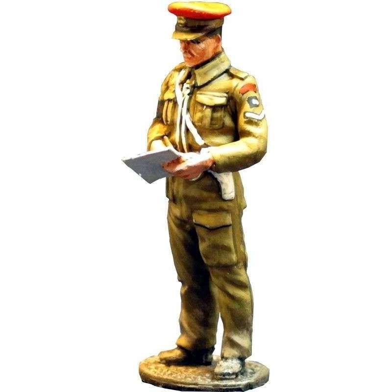 WW 071 Agente policía militar británica