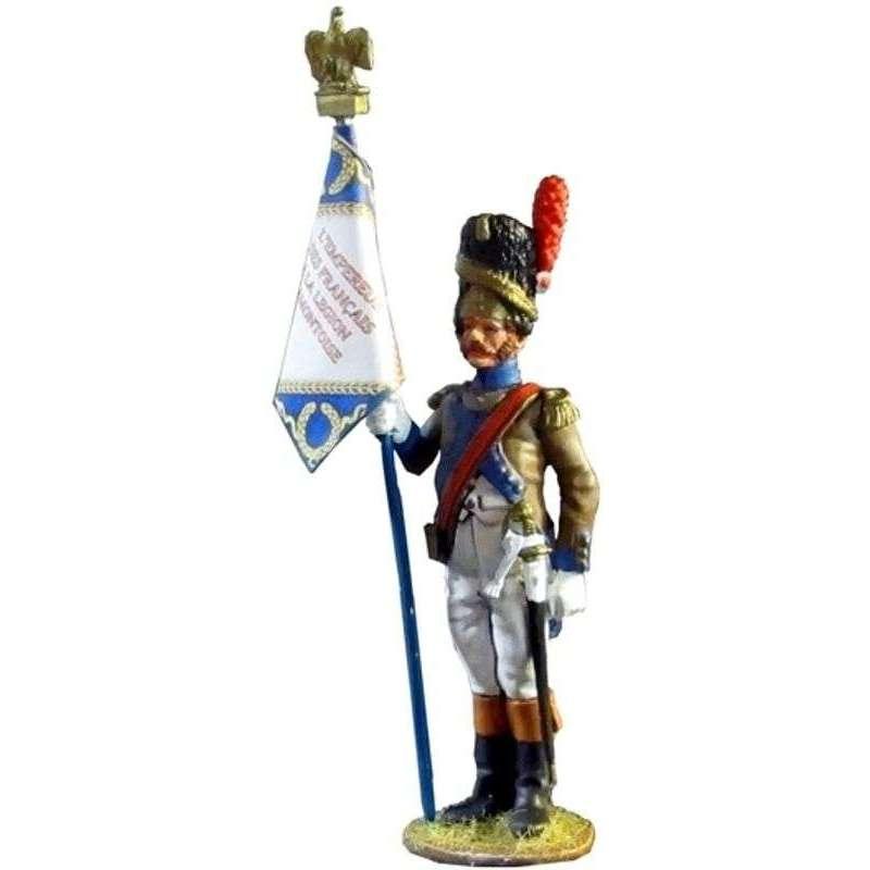 Legion Piamontoise 1809 standard bearer
