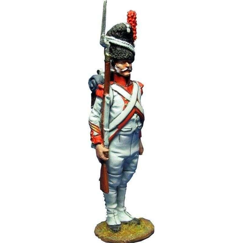 Sargento granaderos tercer regimiento guardia imperial francesa