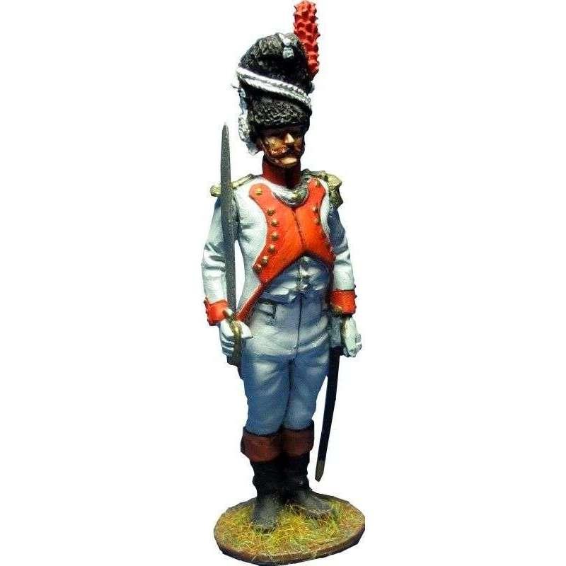 NP 398 Oficial tercer regimiento granaderos guardia imperial francesa