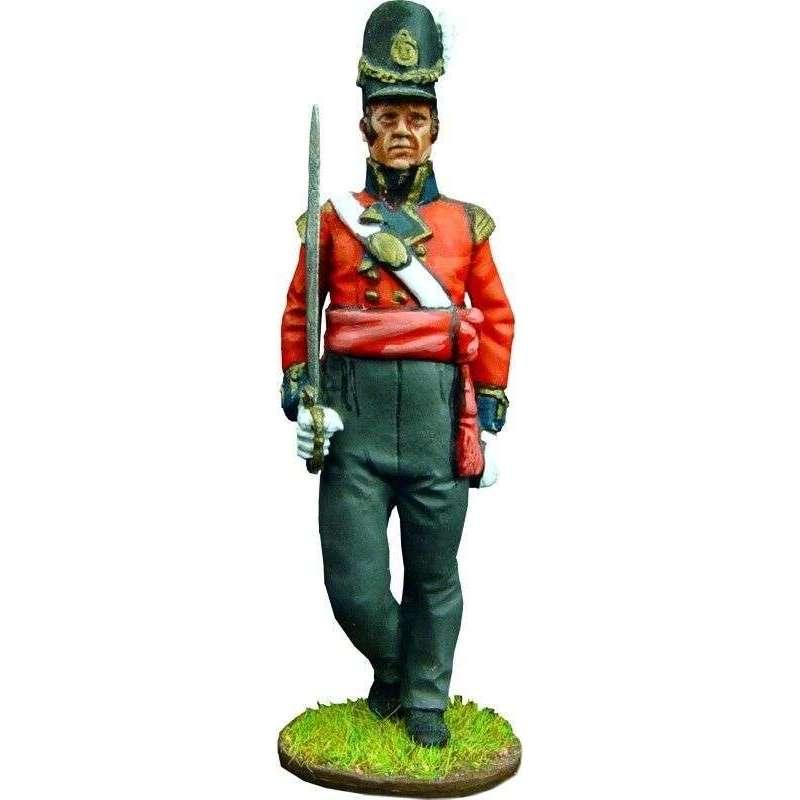 Oficial granaderos primer regimiento infantería