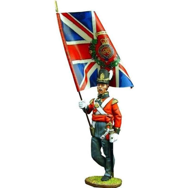 NP 109 Bandera Real granaderos primer regimiento infantería