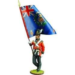 NP 110 Bandera regimental granaderos primer regimiento infantería