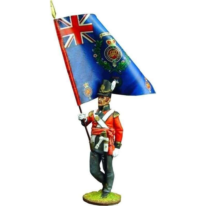 Bandera regimental granaderos primer regimiento infantería