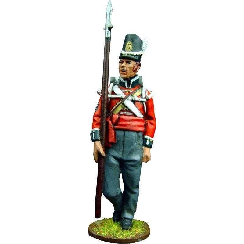 Sargento granaderos primer regimiento infantería