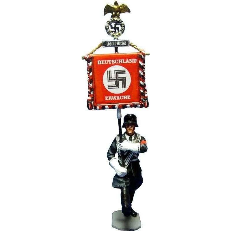 WW 073 LAH standard bearer