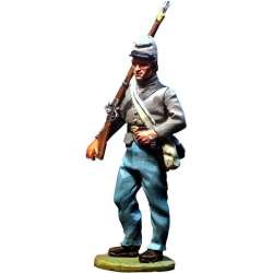 ACW 012 toy soldier infantería regular confederada