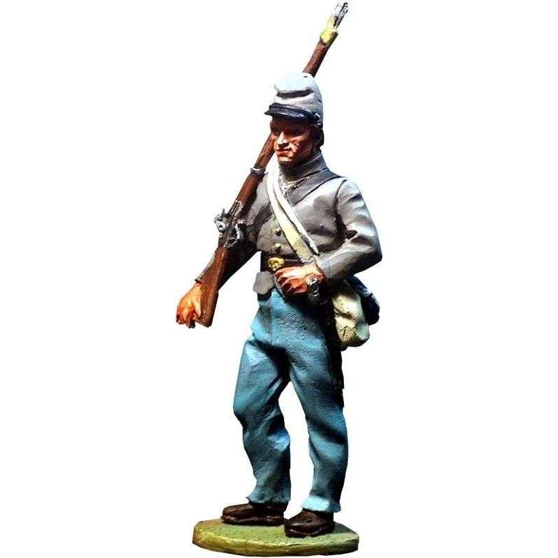 Confederate regular infantry