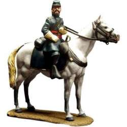 Mounted union officer