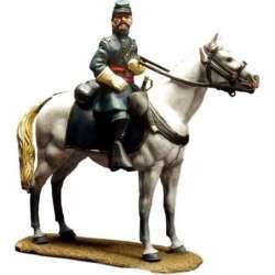 ACW 016 toy soldier oficial unión montado