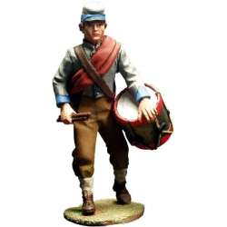 ACW 020 toy soldier CSA infantry drummer