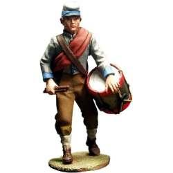 ACW 020 toy soldier tambor infantería confederado