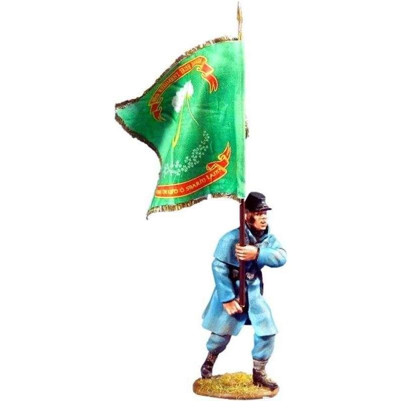 ACW 031 Bandera brigada irlandesa batalla Fredericksburg